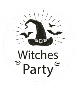 Witches Party- Decoravinilos