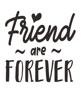 Friend are forever-DecoraVinilos
